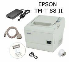 Bondrucker Kassendrucker Epson TM-T TMT 88 II mit Netzteil seriell und Zubehör