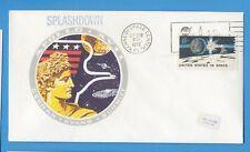 APOLLO 17 - Splashdown - posted KSC  Dec 19, 1972
