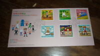 2015 HONG KONG STAMP ISSUE FDC, CHINESE & FOREIGN FOLKLORE SET OF 6 STAMPS