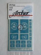 Archer 1/35 United Nations UN Flag for Vehicles & Checkpoints (9 flags) AR35289