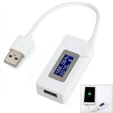 Mini Tension LCD USB actuel Testeur de détecteur Moniteur Lecteur ampèremètre DU