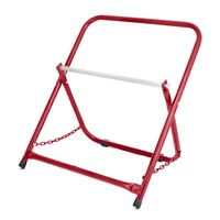 AdirPro Red Portable Electrical Wire Spool Caddy Foldable Cable Rack Holder