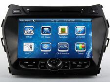 Auto Stereo Radio Car DVD Player GPS Navigation For Hyundai Santa Fe 2013-2017