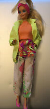 Barbie and The Rockers Dancing Rockstar Doll In Rockers Fashion Mattel Rare