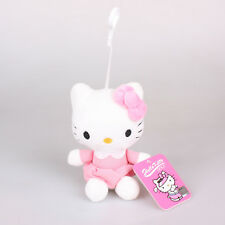 16Cm Sanrio Hello Kitty Plush Toys Soft Stuffed Doll Key Chain Pendant Bag Strap