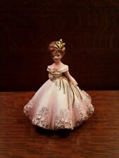 New ListingVintage Josef Originals Girl Figurine Pink Gown