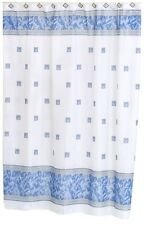 Windsor Fabric shower curtain, 100 percent polyester, Size 70x72, color slate