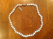 """18"""" Freshwater Pearl Necklace    RET £350    Brand New"""
