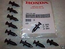 Recambios negros Honda para motos