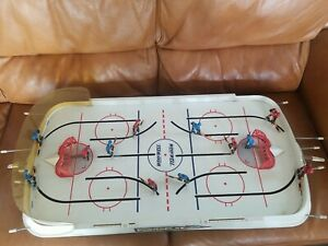 VINTAGE IRWIN POWER PLAY 2 TABLE TOP NHL HOCKEY GAME