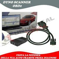 Dyno-Scanner OBD2 Test Prova Potenza CV HP Banco Prova Tramite Diagnosi OBD