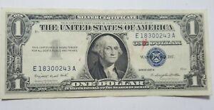 CRISP - 1957-A  Silver Certificate 1$ Dollar Bill Note