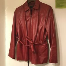 Express Leather Jacket M Women's