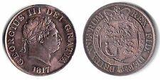 SUPERB George III 1817 Half Crown - Small Head - HIGH GRADE