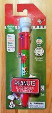 SNOOPY Charlie Brown Peanuts Kugelschreiber Pencil Kulli Ballpen Pen Stempel