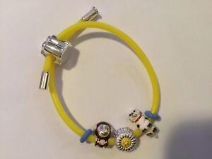 Truth cutie charm bracelet with three charms