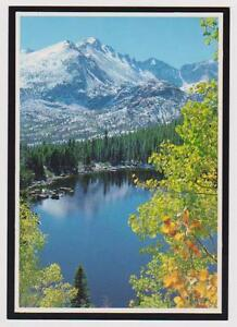 UNUSED Bear Lake , Rocky Mountain National Park Postcard - I Combine S/H