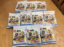 Lego Super Mario Minifigure - X 10 Bundle  71361 Brand new and sealed