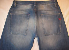 Diesel Mens Ravix Bootcut Jeans Sz 29  X 32  Distressed Wash 793 Italy Made
