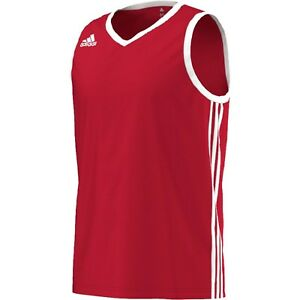 Adidas Commander Basketball Vest Tops RED/White, in sizes S,M,L,XL or 2XL-G76618