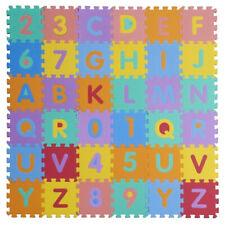 36Pcs Alphabet Anzahl EVA Puzzle Schaum Matten Baby Kind Lehrwerkzeug 16*16cm