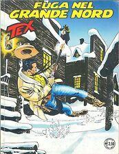 TEX N° 545 - FUGA DAL GRANDE NORD
