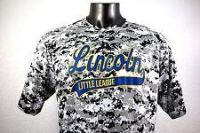 Badger Sport Lincoln Little League #48 Men's Active Shirt Size Xl