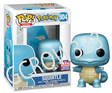 Pokemon - Squirtle #504 Diamond SDCC 2021 Funko Pop Vinyl New in box PREORDER