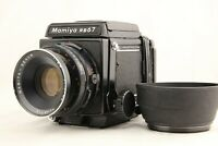 【NEAR MINT】 MAMIYA RB67 Pro + SEKOR 127mm f/3.8 + 120FilmBack w/ Hood from JAPAN