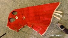2011M Big D Winter Horse Blanket Hood Neck Small Red Quilted Made in USA EXC !!!