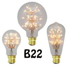 B22 bayonet fitting 220v led Vintage style Fireworks Edison lamp Light Bulb