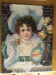 Springbok 500 Pc. Jigsaw Puzzle- An Old Fashioned Girl - COMPLETE