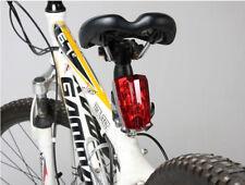 Cycling 5 LED Bike Bicycle Tail Warning Light Rear Safety Stady & Flashing Mode