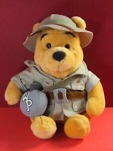 "9"" Safari Winnie The Pooh Bear Plush Soft Toy - Walt Disney World"