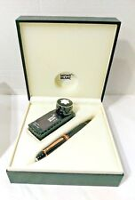 MONTBLANC MEISTERSTUCK 149 18K RED GOLD MEDIUM PT NIB FOUNTAIN PEN NEW IN BOX