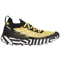 adidas Terrex Two Ultra Parley Womens Trail Running Trainer Shoe Yellow/Black