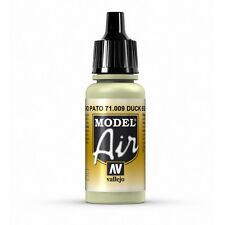 Vallejo Model Air: Duck Egg Green - Acrylic Paint Bottle 17ml VAL71.009