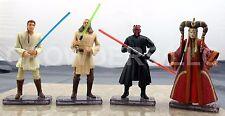 Stars Wars Episode 1 Obi Wan Kenobi Qui Gon Jinn & Darth Maul w/ Queen Amidala