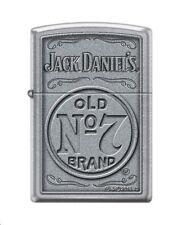 Zippo 4388 Jack Daniels Tennessee Whiskey Old No 7 Street Chrome Lighter