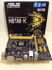 AS-IS, ASUS H81M-K, LGA 1150, 2 DDR3, SATA3, PCI-E, M-ATX, F7JA21