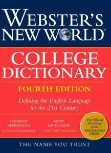 Webster's New World College Dictionary (1999, Hardcover)