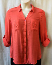 Regatta Size 12 Shirt Blouse Top Womens Long Sleeve Work Casual Evening FREEPOST