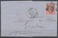 Lettre N°24 80c rose Etoile de Paris +CAD H180