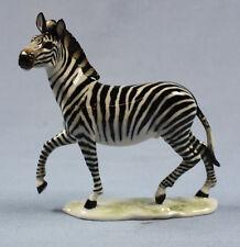 Seltene Zebra figur Hutschenreuther porzellanfigur granget