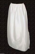 vintage 1940s, Half Slip, Lorraine, Ivory Lace opaque Nylon mint, M