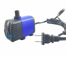 450L/H 110V Submersible Water Pump For Aquarium Tank Pond Fountain Irrigation