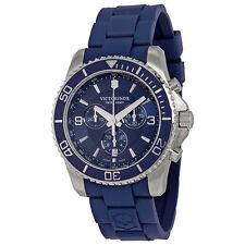 Victorinox Swiss Army Maverick Chrono Blue Dial Swiss Quartz Watch 241690