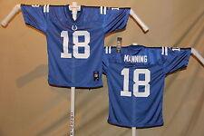 Peyton Manning  INDIANAPOLIS COLTS  Reebok  JERSEY  Youth Large   NWT   blue