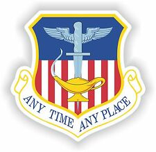 Anytime Any time Any Place Sticker US Army Air Force Bumper Laptop Helmet Guitar