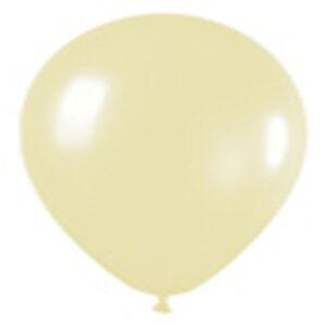 "12 PEARL ANTIQUE WHITE LATEX BALLOONS HELIUM GRADE 11"""